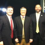The CASB Broadcast Team: Me, Mark Hogue and Will Merritt