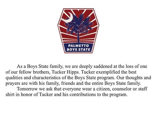 Boys State Tucker Hipps