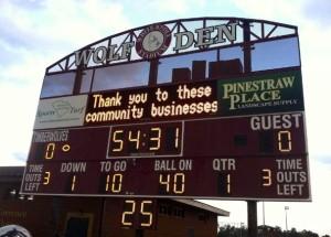 WhKnoll Scoreboard